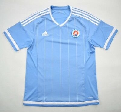 Adidas 2015-16 SLOVAN BRATISLAVA koszulka L Shirt Jersey Kit image
