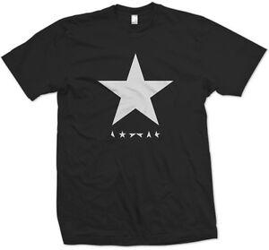 DAVID-BOWIE-T-SHIRT-BLACK-STAR-SHIRT-Sizes-S-5XL
