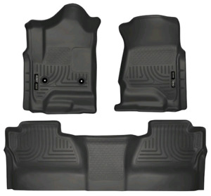 Husky Weatherbeater 98231 floor liners for crew cab Chev GMC