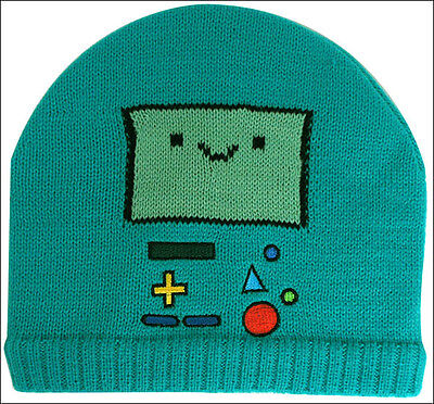 Adventure Time with Finn and Jake Beemo Costume Cosplay Beanie Cap Hat