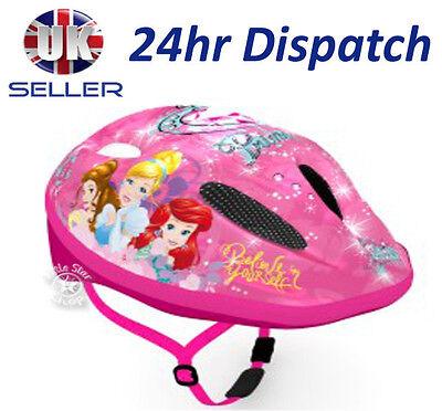 Disney PRINCESS Childrens Kids Bike Cycle Safety Helmet 3 years + / 52-56cm