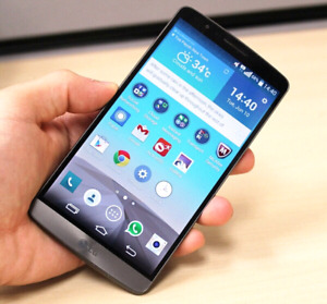 Mint UNLOCKED LG G3 with a heavyduty case