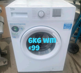 Beko 6kg washing machine free delivery in Birmingham