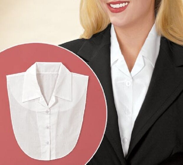 Dickey Button Down Shirt Style Poly/Cottoned Many Colors Available Classy Clothing, Shoes & Accessories