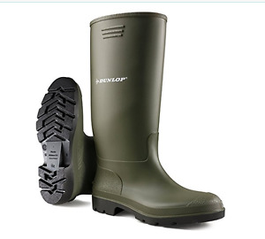 Dunlop Pricemastor PVC Welly / Womens Boots size 7/37-38