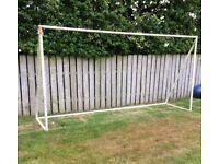 Metal Goalpost 6.5ft x 12ft. *Free*