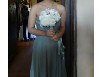 Coast - sage green bridesmaid/prom dress