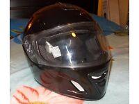 Motorbike helmet. Very comfortable. With ventilation. Hackney, East London