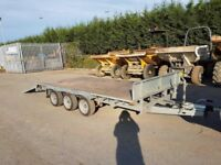 2017 Indespension 14ft tri axle trailer