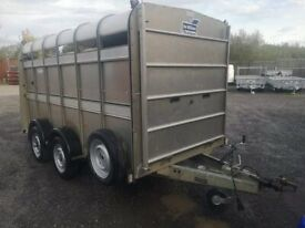 Cattle trailer Ifor Williams 12x6 with sheep decks