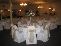 Win Your Linens and Chair Covers with the Sash