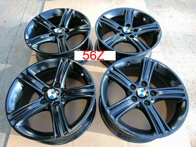 "17"" BMW 3 4 Series Wheels Rims OEM 320i 328i 335i 428i E36 E46 BLACK 56Z"