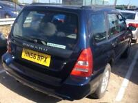 2006 Subaru Forester 2.5 XT 5dr Petrol blue Manual