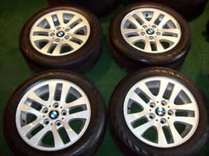 "16"" BMW OEM WHEELS - TIRES - GREAT DEAL $$ 350"