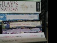 Job lot assorted Aromatherapy , massage anatomy books just £10