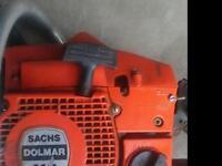 Dolmar 112 20inch chainsaw