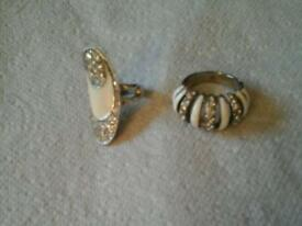Ladies glitz rings