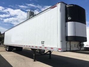 ISO a Reefer Trailer