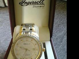 Ingersoll diamond watch