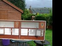 Wooden double breeding cages