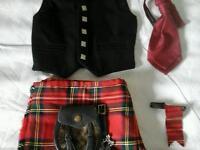 Boys kilt Outfit