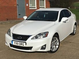 LEXUS IS200D Advance FULL SERVICE HISTORY, 1 PREVIOUS OWNER!!!
