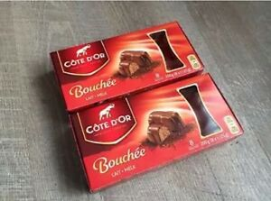 2 Boxes Cote D'Or Chocolate Bouchee Milk 16 Praline Côte Dor AVAILABLE IN MAY