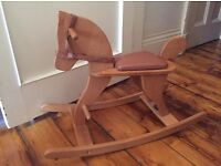 Moulin Roty Childrens wooden Rocking horse