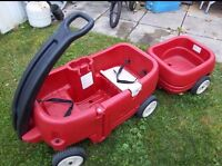 Step2 wagon with trailer