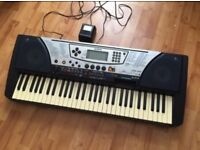Yamaha PSR-340 Touch Sensitive Synthesiser Keyboard for Sale