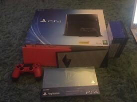 Black Sony PS4 500gb bundle