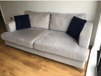 Furniture Village Sofa & Footstool