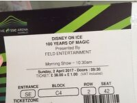 Disney on ice tickets for Wembley