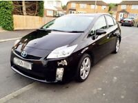 TOYOTA PRIUS 12 MONTHS MOT T-SPIRIT PCO BAGED RECENT UBER READY EXCELLENT CONDITION BLACK HPI CLEAR