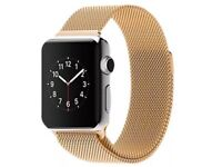 42MM Milanese Magnetic Loop Stainless Band Strap For Apple iWatch