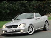 "+++Mercedes-Benz SLK 2.0 SLK200 Kompressor 2dr ++NEW SHAPE++""19"" AMG ALLOYS++"