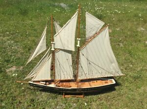 Bluenose Ship Model