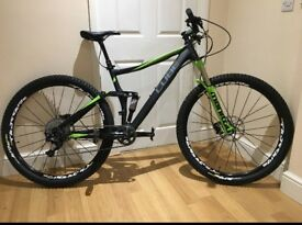 Cube stereo 120 HPA race 29er 2015 upgraded