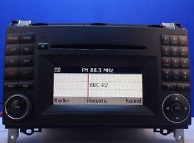 Mercedes B-Class Audio 20 Bluetooth / CD Player / Radio / Head Unit