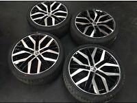 BRAND NEW VW ALLOYS AND TYRES+BARGAIN+
