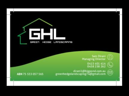 Green Hedge Landscaping and Fencing and maintenance