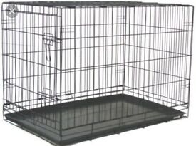 Extra large black dog crate for sale