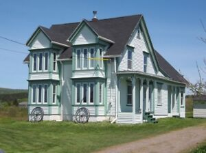 Rural Nova Scotia On The Bay Of Fundy