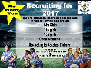 Seeking players for Women's rugby league Bass Hill Bankstown Area Preview