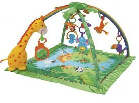 Fisher Price Rainforest Melodies & Light Play gym