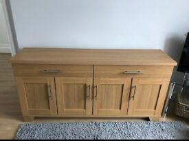 Sideboard - Laminated Oak effect sideboard
