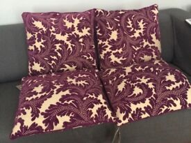 New Marks & Spencer Chenille Cushion