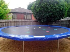 16 foot trampoline for sale, good price, want gone ASAP