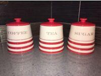 Coffee, Tea and Sugar Pots