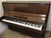 Piano 3 month warranty